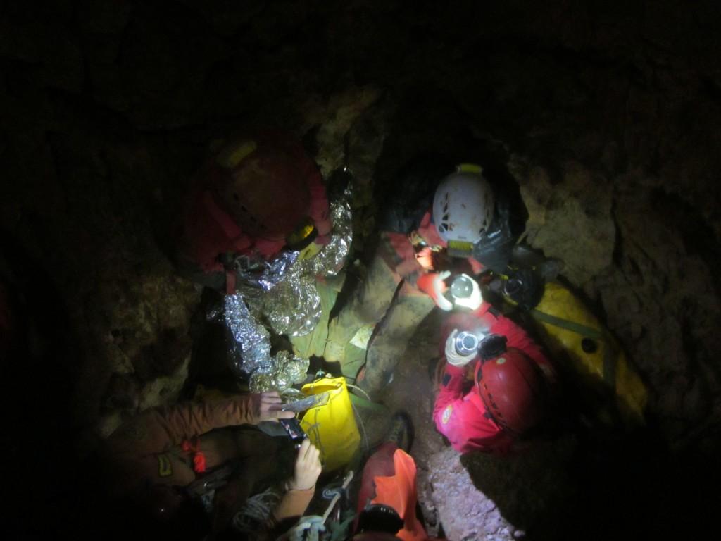 grotta serle soccorso alpino