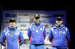 il team del Centro Sportivo Esercito