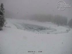 località montagnoli neve