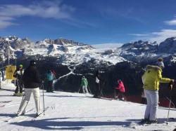 pista 5 Laghi campiglio sci