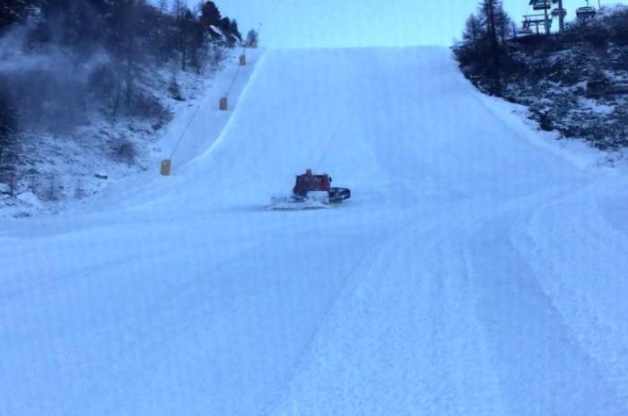 piste battute neve folgarida marilleva gatto nevi