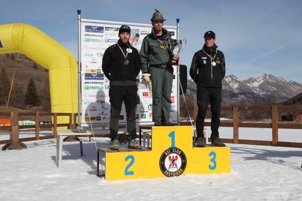 podio maschile biathlon