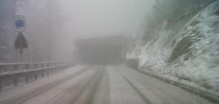 Neve statale 42 Tonale
