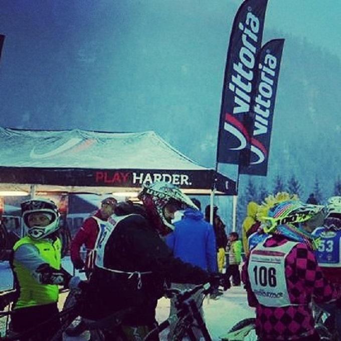 Passo Tonale downhill winter