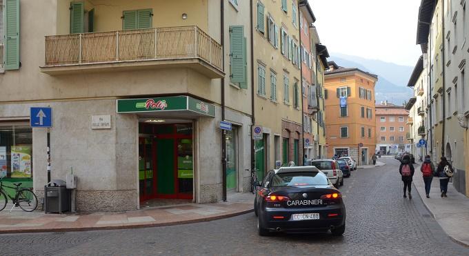 carabinieri centro Trento