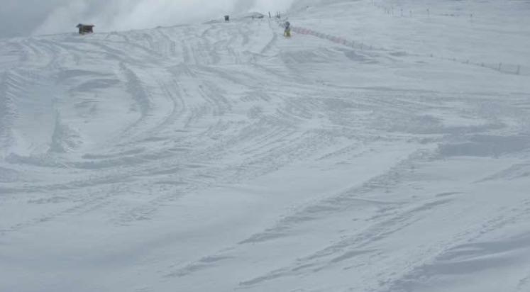 piste neve fresca