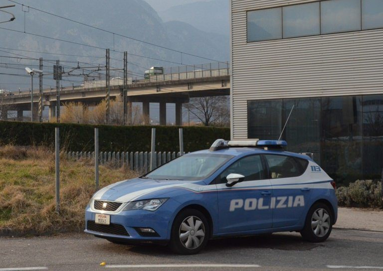 polizia Trento 1