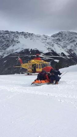 polizia soccorso piste neve sci