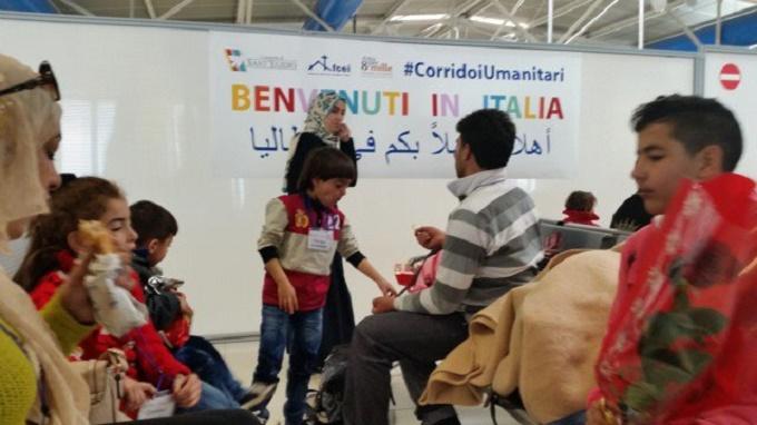 trento corridoi umanitari
