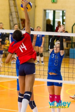 Milano-Como femminile volley pallavolo