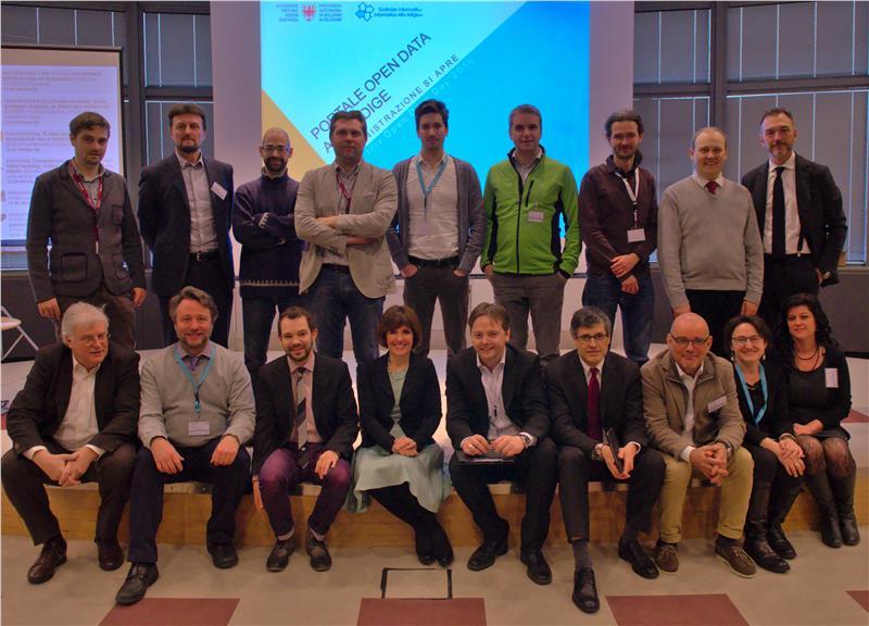 Open Data organizzato Bolzano