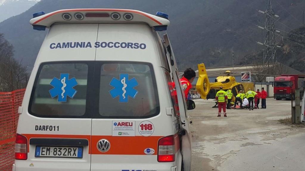 ambulanza darfo camunia