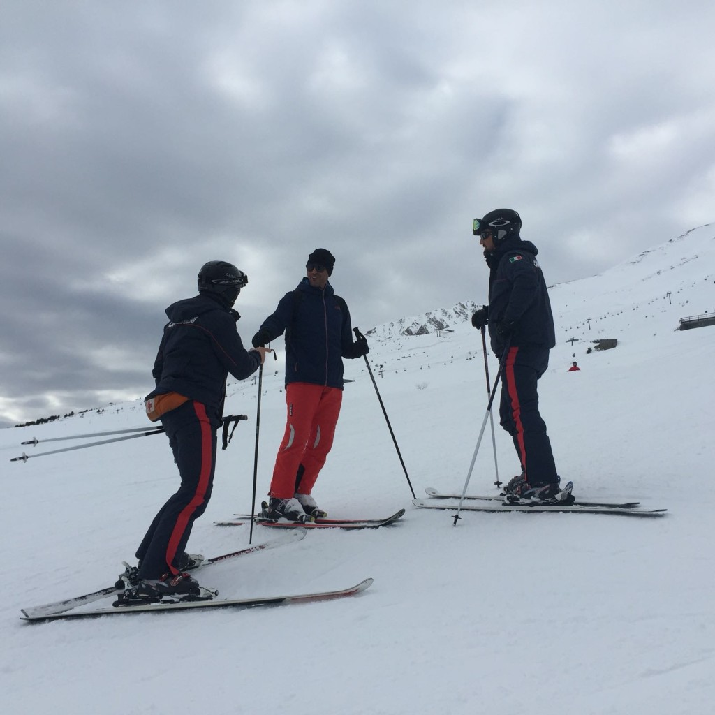 carabinieri piste sci
