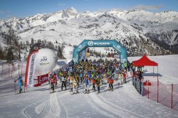 partenza scialpinismo campiglio