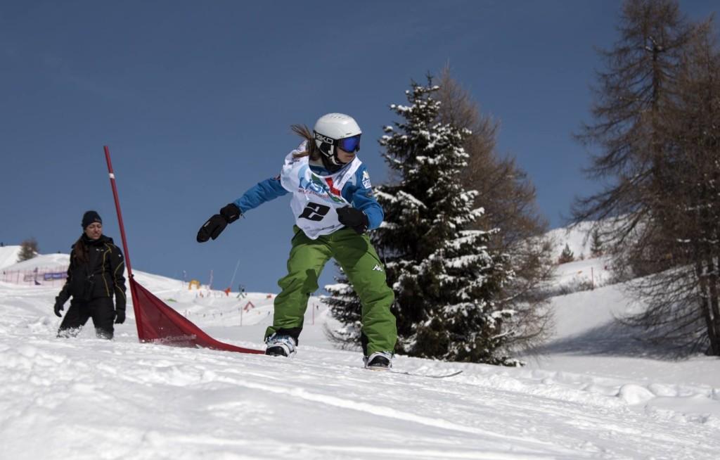 sara dorigatti snowboard trentino sci neve