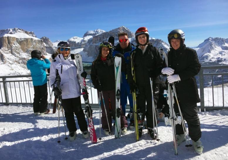 sciatori tour operator montagne trentino