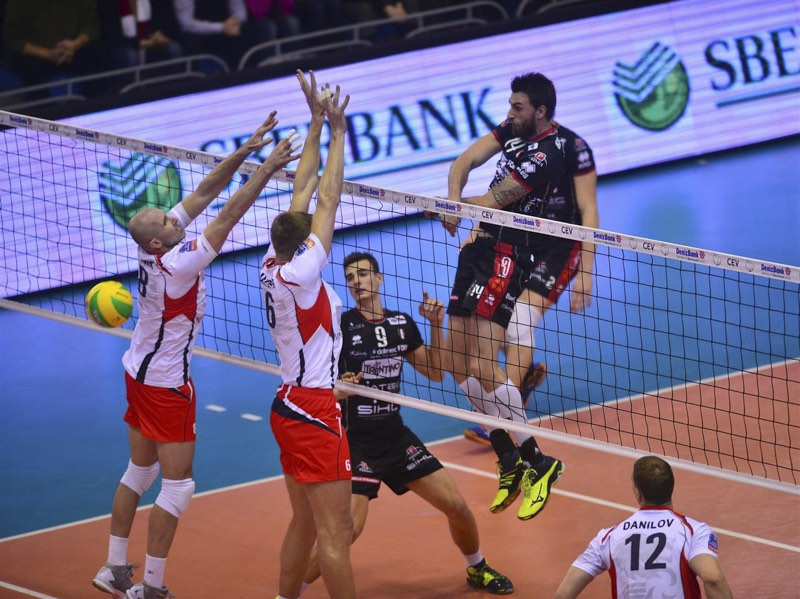 volley trentino champions