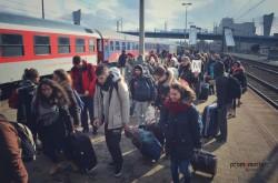 Arrivo-in-treno-a-Cracovia-
