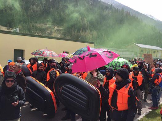 Protesta Brennero