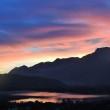 alba lago di Caldonazzo 6 nov 2015 di Alberto Pattini