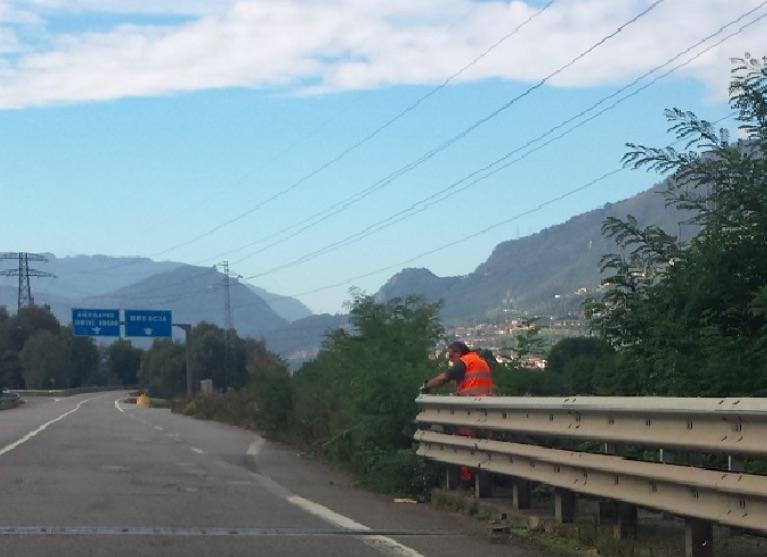 buche statale lavori tonale strada