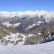 panorama folgarida marilleva piste neve