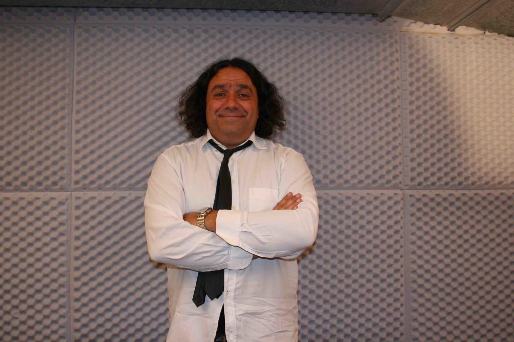 Angelo Quatrale , dj di Radio Fiume Ticino