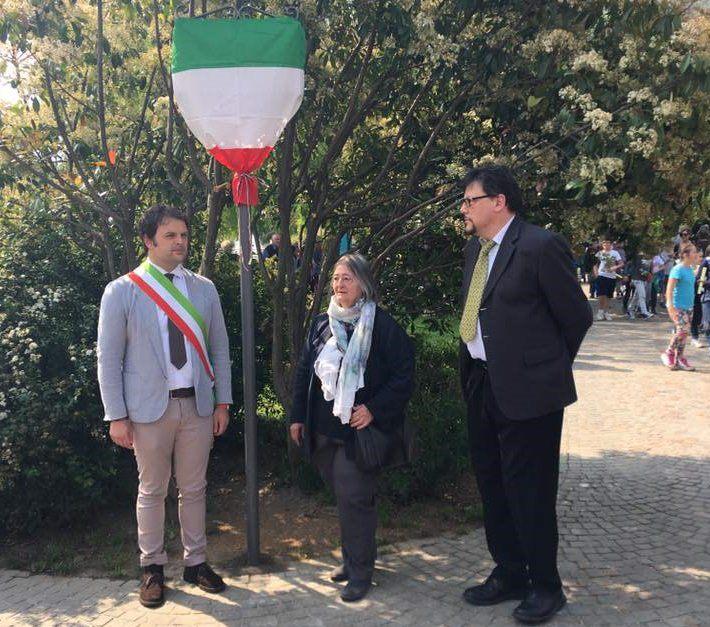 Edolo intitolazione a Bruno Casalini parco Adamello 1