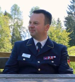 Jon Hendrik Kuinke presidente della Commissione IJLK    europea, quella che raggruppa i Giovani Vigili del fuoco volontari