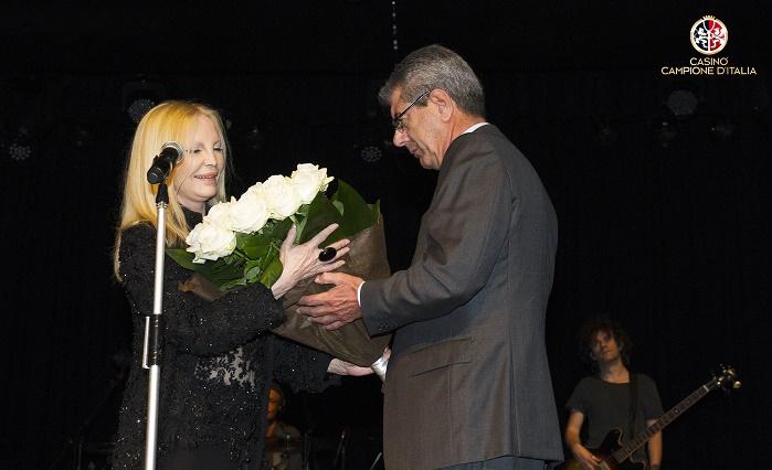 """Casinò di Campione d'Italia concerto di Patty Bravo """"Eccomi Tour"""""""