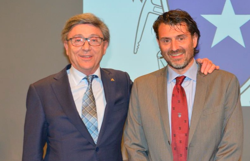 sinistra Vincenzo Torti, destra Antonio Montani
