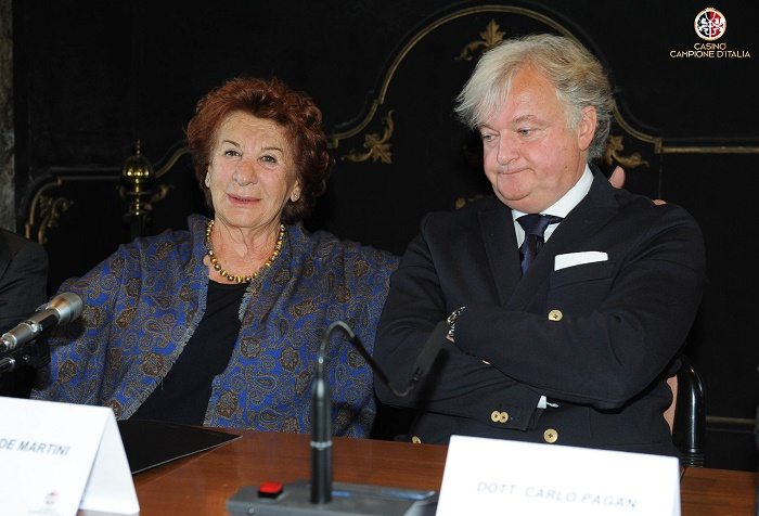 """Como Villa Gallia conferenza stampa di presentazione de """"Un ballo per la vita"""" la raccolta fondi per i bambini indiani promossa da Fausta De Martini """"Zia Fausta"""""""