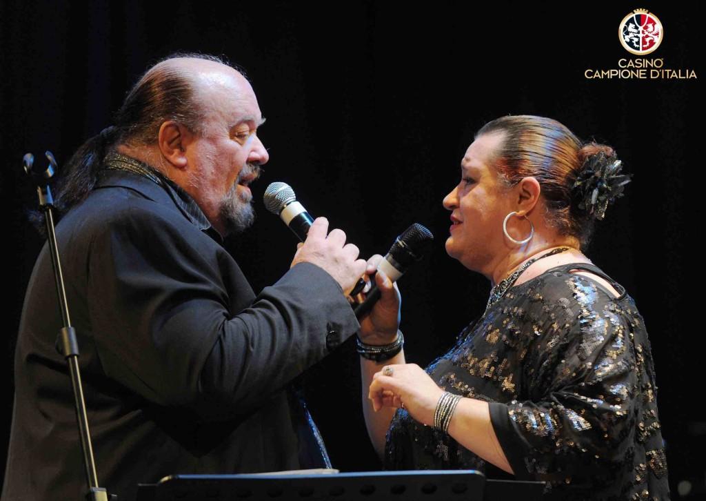 Casinò di Campione d'Italia Galà degli Auguri con Piero Cotto e Beatrice Dalì con la Big Band Cottos Club Orchestra