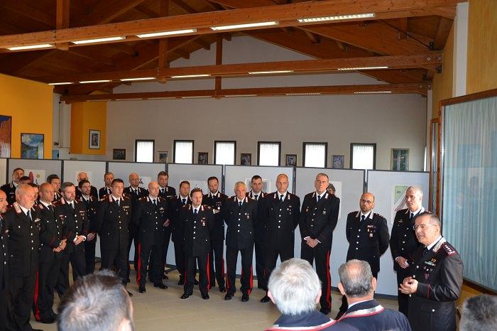 Carabinieri festa Trento0