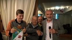 Da sx Nicolò Belingheri, Martino Belingheri, Andrea Pizio e Giocondo Nezosi