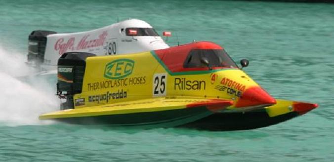 Formula 2 motonautica Campione
