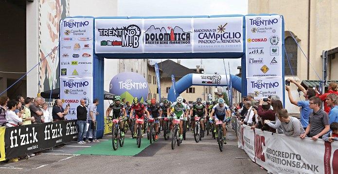 Partenza Brenta bike - Pinzolo 1