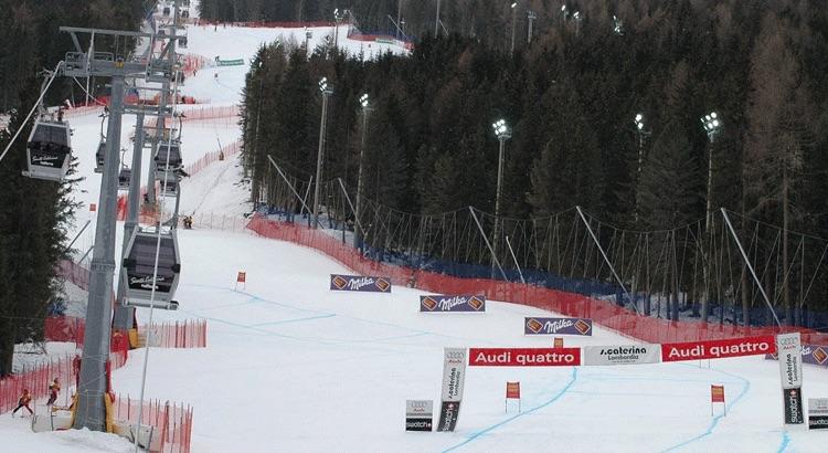 santa caterina discesa sci alpino