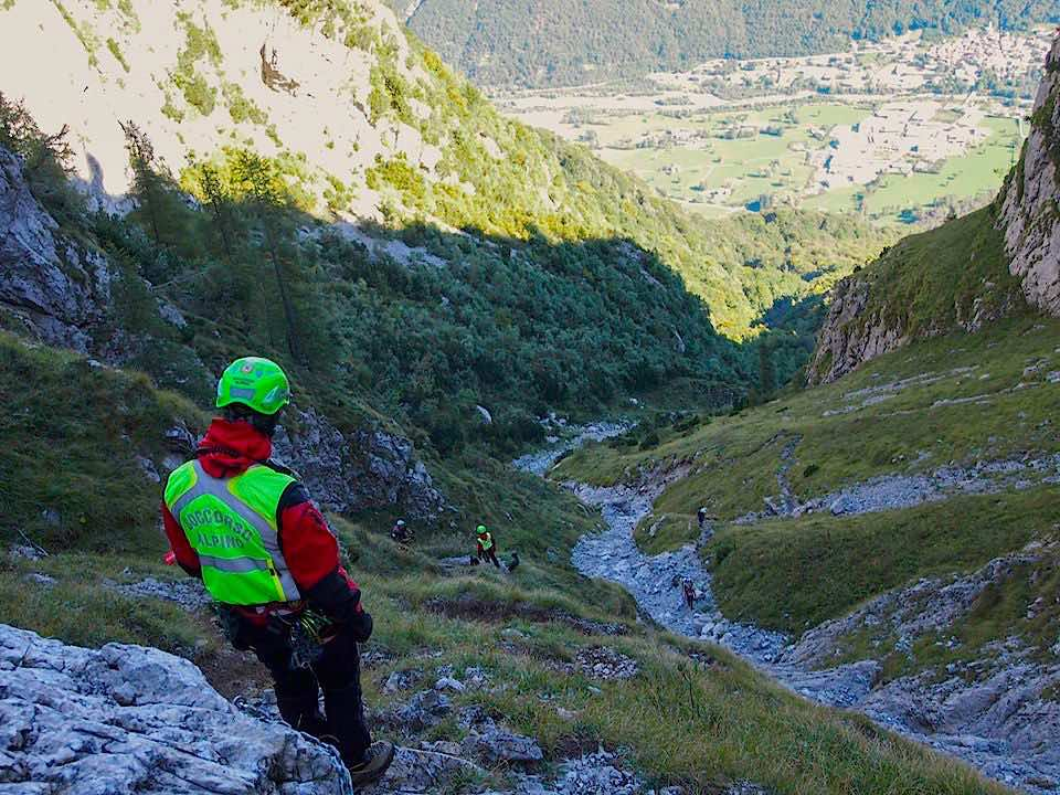 soccorso alpino escursioni montagna sentieri