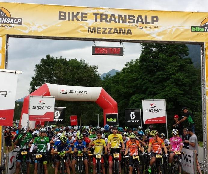 Bike transalp Mezzana 1
