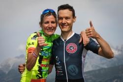 I campioni del mondo Serena Gazzini e Andrea Zamboni