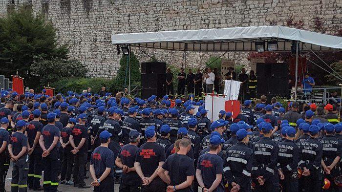 Trento Vigili del fuoco volontari1