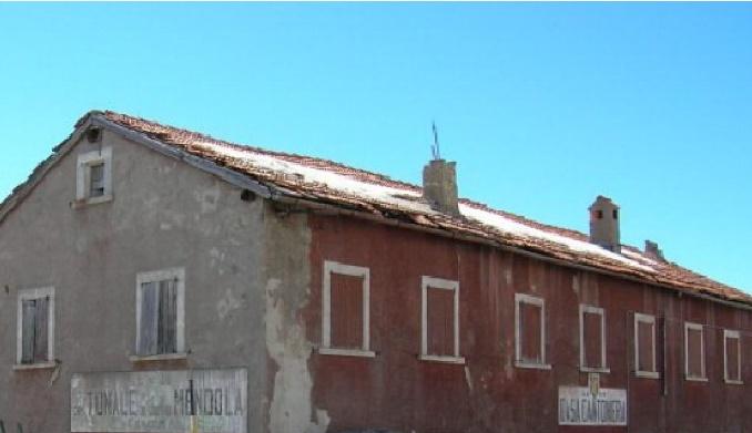 casa cantoniera Anas Tonale