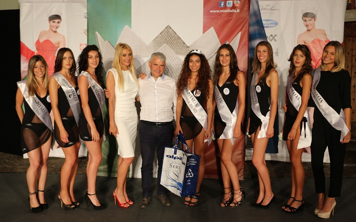 podio miss Cortina
