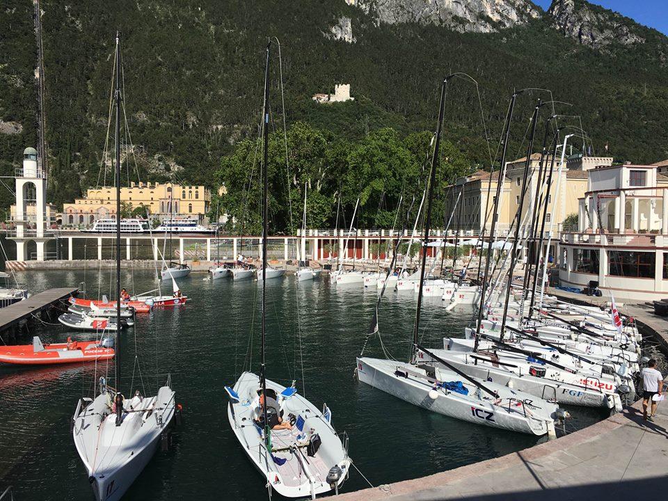 vela riva garda porto