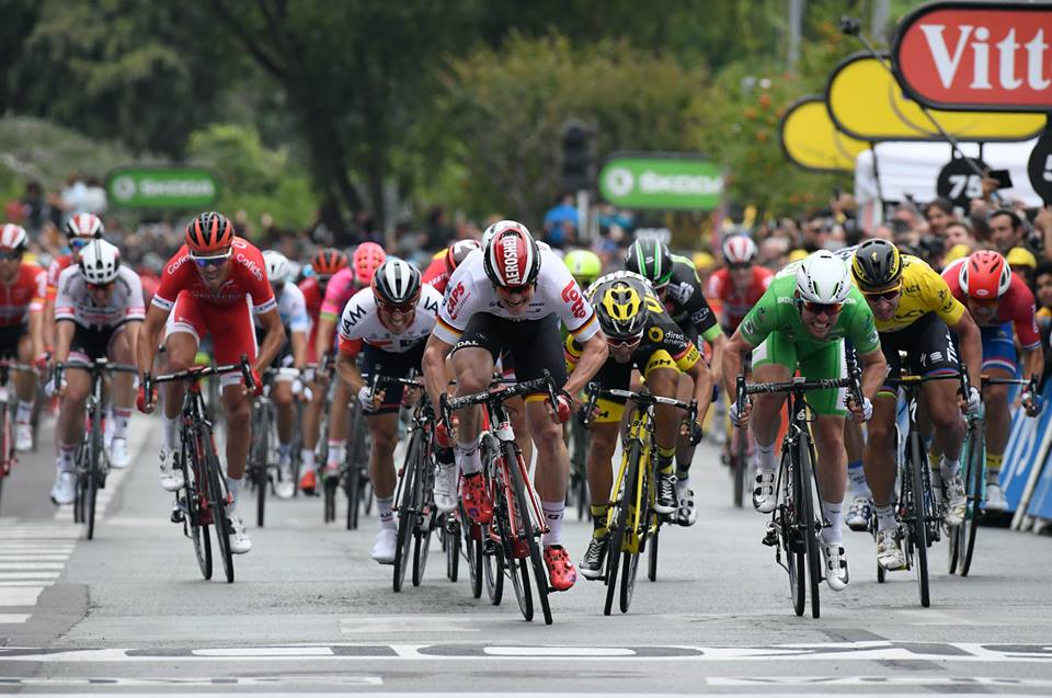volata greipel cavendish sagan gruppo ciclismo