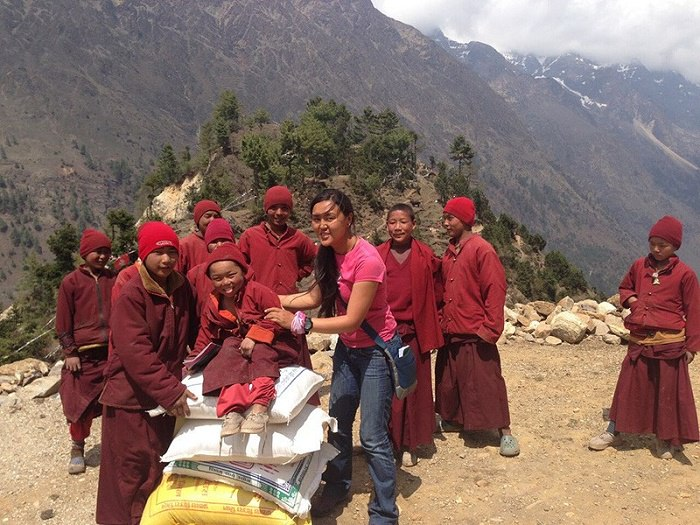 Campiglio Pasang Lhamu Sherpa Akita 1