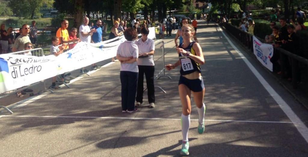 Elektra Bonvecchio, vincitrice Ledro Running