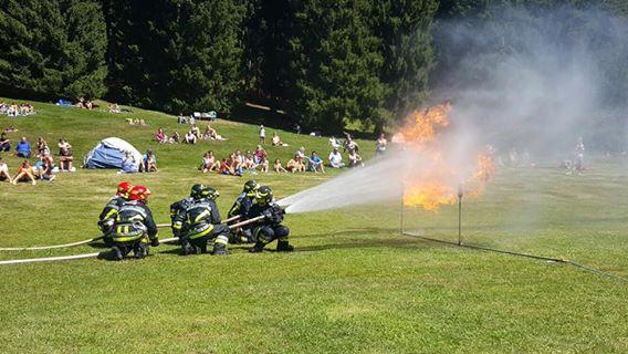 Esercitazione Vigili del fuoco cevo