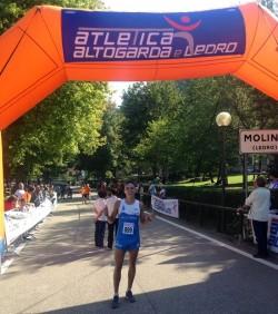 Marco Filosi, vincitore Ledro Running